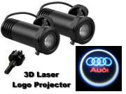 3D LED Logo Projector Audi