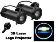 3D LED Logo Projector Chevrolet