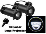 3D LED Logo Projector Dacia