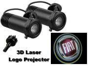 3D LED Logo Projector Fiat
