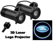 3D LED Logo Projector Land Rover
