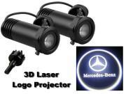 3D LED Logo Projector Mercedes