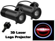 3D LED Logo Projector Nissan