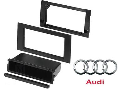 Rama adaptoare Audi A4 (2002 - 2006) kit 2DIN - 1DIN